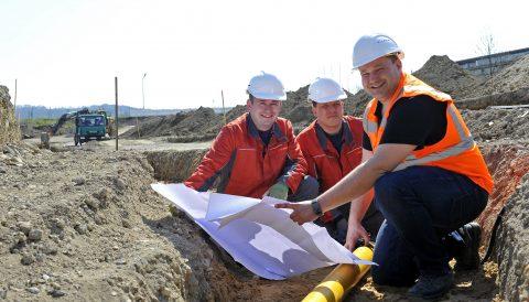 Stadtwerke Andernach erneuern Versorgungsanlagen in der Alte Mayener Straße