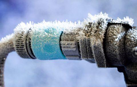 Anlagen der Wasserversorgung vor Frost schützen